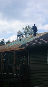 Roof application on R44 Rideau